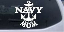 Navy Mom Car or Truck Window Laptop Decal Sticker Military 6X6