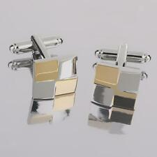 Hot Mens Square Shirt Cufflinks Wedding Party Jewelry Accessories