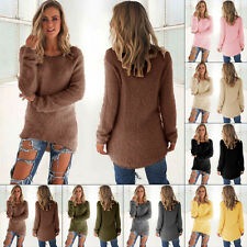 Hot Sale Woman fashion sexy Casual Pullover lady sweater coat color long sleeve