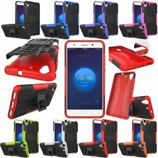 Rugged Hybrid Armor Shockproof Hard KickStand Case Cover For Huawei Ascend Y6 II