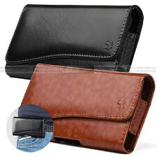 Fit Apple iPhone 6, 7 Horizontal PU Leather Holster Pouch Case Cover + Card Slot