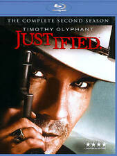 """JUSTIFIED"" The Complete SECOND Season BLU-RAY 3 DISC Set"