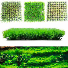 Artificial Water Aquatic Grass Plant Lawn Decor Aquarium Fish Tank Landscape