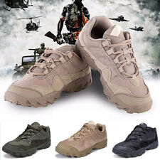 Men Tactical Comfort Desert Leather Combat Military Boots Special Forces US Army