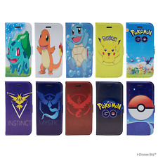 Case/Cover Pokemon Apple iPhone 5 / 6 / 7 + Screen Protector / PU Leather Flip