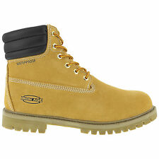 Iron Age Mens Wheat WP Suede Insulated Work Boots Steadfast Steel Toe
