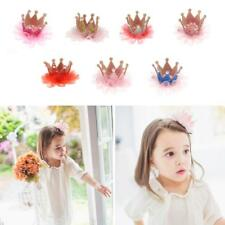 Baby Kids Girls Princess Crown Hairpin Hair Clip Hair Accessories Birthday Gift