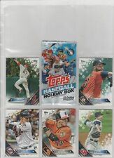 2016 TOPPS BASEBALL SNOWFLAKE HOLIDAY BOX PICK-10 COMPLETE YOUR SET OR TEAM SET