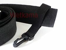 Scuba Diving Snap Hook With Webbing Loop Fits 50mm Belt Lanyard Clip UK Made