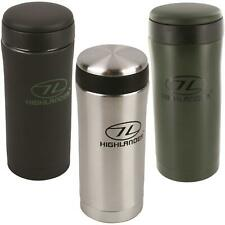 Stainless Steel Insulated Thermal Ammo Pouch Flask Mug Travel Camping Coffee Cup