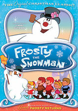 Frosty the Snowman (DVD, 2001) Rankin Bass Christmas Classic FREE SHIPPING