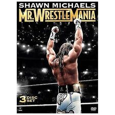 WWE: Shawn Michaels - Mr. Wrestlemania (DVD, 2014, 3-Disc Set)