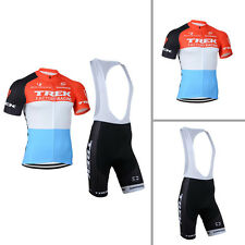 New Mens Cycling Clothing Breathable Bicycle Jersey Bib Shorts Suits Size S-3XL