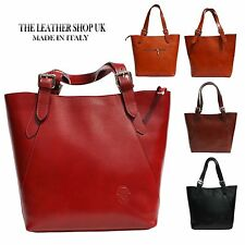 Fashion Womens Lady Tote Shoulder Handbag Italian Genuine Leather H013
