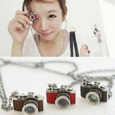 Hot Fashion Vintage Style Gorgeous Camera Pendant Necklace Chain New Style Gifts