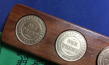 1932 Birthday Gift Present Aussie Two-Up game set other penny years available