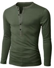 Men Long-sleeved Access Mixed Colors Fashion Casual Slim Fit Shirt 6 Color