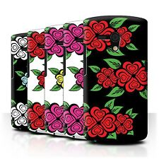 STUFF4 Phone Case/Back Cover for Sony Xperia Neo L/MT25i /Love Heart Roses