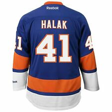 Jaroslav Halak New York Islanders Reebok Premier Replica Home NHL Hockey Jersey