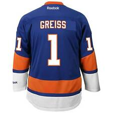 Thomas Greiss New York Islanders Reebok Premier Replica Home NHL Hockey Jersey