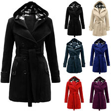 New Fashion Women Warm Winter Parka Trench Hooded Long Jacket Outwear Coat HOT