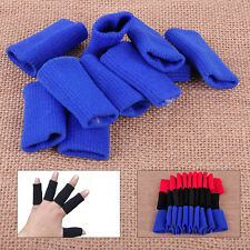 10xElastic Finger Support Wrap Arthritis Protector Basketball Volleyball Sleeves