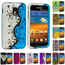 For Samsung Sprint Galaxy S2 II Epic Touch 4G Design Hard Rubberized Case Cover