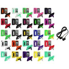 For iPod Touch 4th Gen 4G Hybrid Heavy Duty Rugged Case Cover Headphones