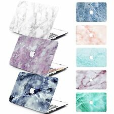 "Rubberized Hard Case Marble Pattern For 2016 Macbook PRO 13"" (Touch Bar) A1706"