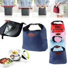 Thermal Insulated Cooler Waterproof Lunch Drink Tote Carry Storage Picnic Bag