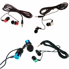 Earphone Roping New Earbud Subwoofer MP3/Mp4 Stereo Ear Headphone Metal 3.5mm