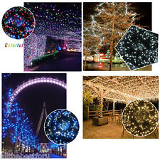 100M 500LEDs Christmas String Fairy Lights Tree Party Garden Decor Various color