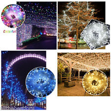 250Leds 50M Christmas String Fairy Lights 8Modes Tree Party Wedding Garden Decor