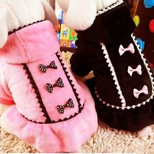 Warm Pet Coat Dog Winter Jacket Sweater Coat Clothes Puppy Cat Apparel Outwear