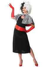 Adult Disney Cruella De Vil Costume