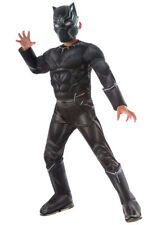 Kids Size Deluxe Black Panther Costume