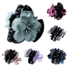 Girl Cloth Flower Jaw Clip Barrette Hair Claw Accessories
