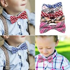 Children Boys Toddler Bowtie Tied Wedding Party Bow Tie Necktie Adjustable RE
