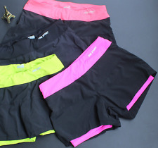 Womens Shorts Yoga Fitness Leggings Running Gym Exercise Sports Pants Trousers