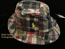 Polo by Ralph Lauren reversible cotton bucket hats size S/M NWT authentic items