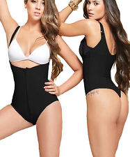 Women's Body Briefer Firm Control Shapewear Full Body Shaper Thong Bodysuit