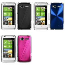 For HTC Radar 4G / Omega Aluminum Armor Cosmo Slim Hard Case Phone Cover