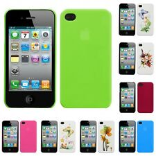 For Apple iPhone 4/4S Snap-On Rear Hard Back Cover Phone Case