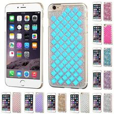 For Apple iPhone 6/6S Plus [5.5] Diamond Studded Glitter Bling Hard Phone Case