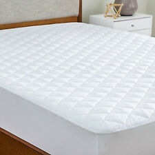 Deep Pocket Mattress Protector Microfiber Quilted Pad Fit Hypoallergenic Cover