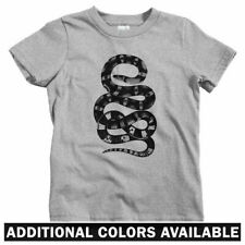 Snake Kids T-shirt - Baby Toddler Youth Tee - Serpent Reptile Slytherin Bad Ass