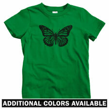 Monarch Butterfly Kids T-shirt - Baby Toddler Youth Tee - Butterflies Vintage