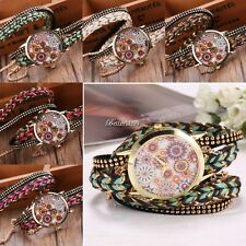 Women Fashion Casual Weave Alloy Band Round Dial Quartz Watch 2017 New BF9
