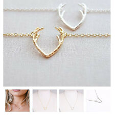 New Antler Alloy Short Simple Hot Clavicle Chain Pendant Fashion Women Jewelry