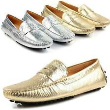 Mens Leisure Flat Fashion Slip on Driving Moccasin Loafers Comfortable Shoes